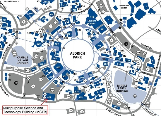 Lecture Demonstration Program - Contact Us Uc Irvine Campus Map