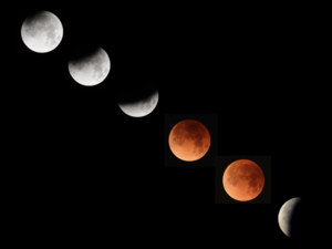 Lunar Eclipse of Jan 31, 2018 taken by Professor Aaron Barth